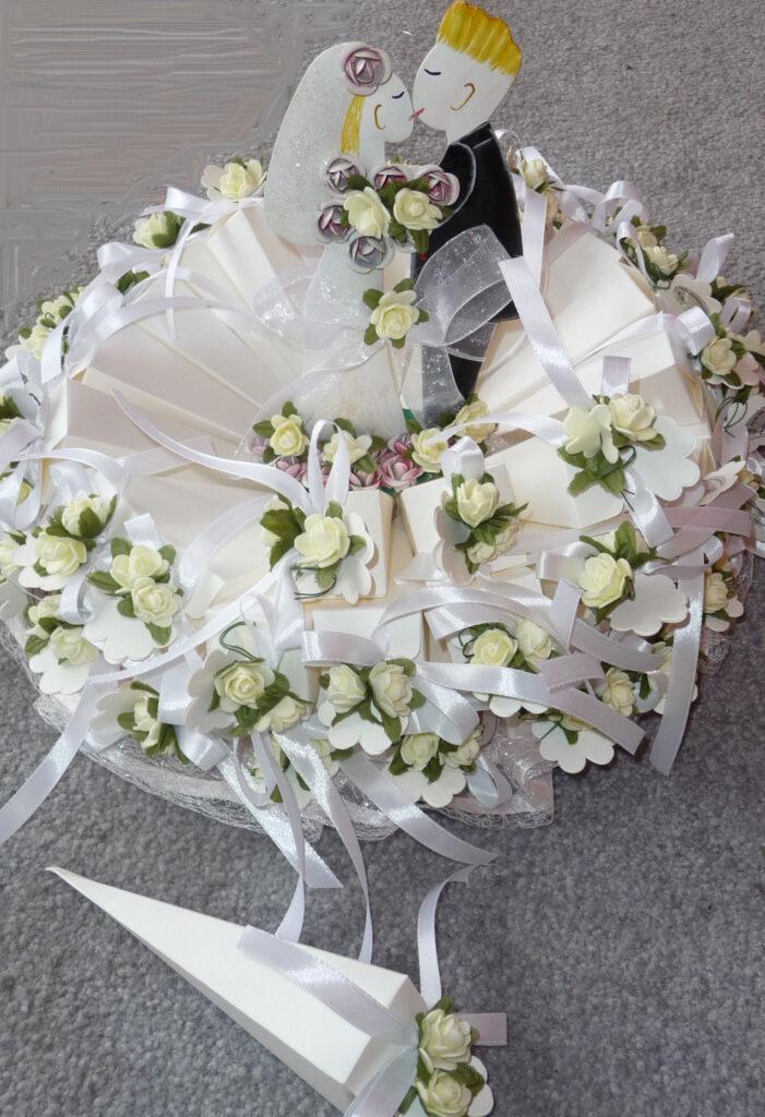 Bonbonieretorte zur Hochzeit