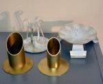 Tischdekoration, Geschenke zu Kommunion, Firmung und Konfirmation: Kerzenständer
