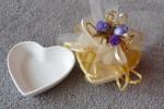 Jubiläums Gastgeschenk, Silberne oder Goldene Hochzeit Bonboniere