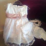 Für diesen besonderen Tag bestellen Sie diese wunderschönes feines Kleid für Ihre kleine Prinzessin!