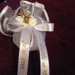 Zur goldene Hochzeit Gastgeschenke mit Beschriftung als Erinnerung!