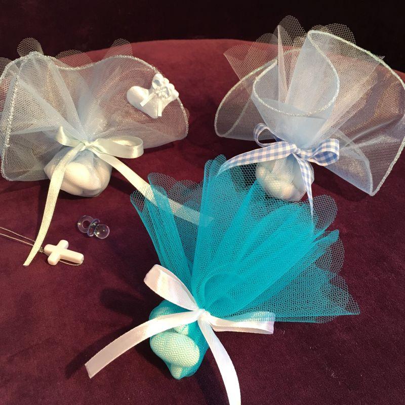 Bonboniere zur Taufe oder Tischdekoration