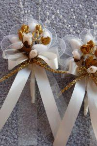Goldene oder silberne Hochzeit Bomboniere, originelles Gastgeschenk zur Jubiläum