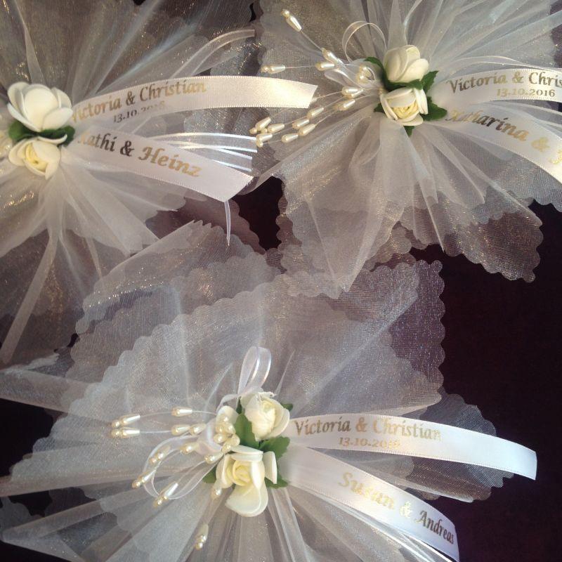 Hochzeit Bonboniere personalisiert und Platzkarte