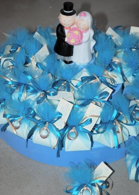Bonbonieretorte für die Hochzeit