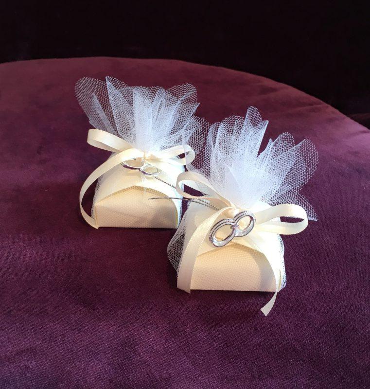 Bonboniere und Giveaways zur Hochzeitsfeier
