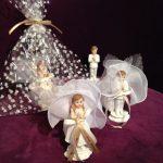 Hübsche Kommunion Bonbonieren, Kinder Figur.Edles Gastgeschenk für Ihre Gäste am Fest der Kommunion.