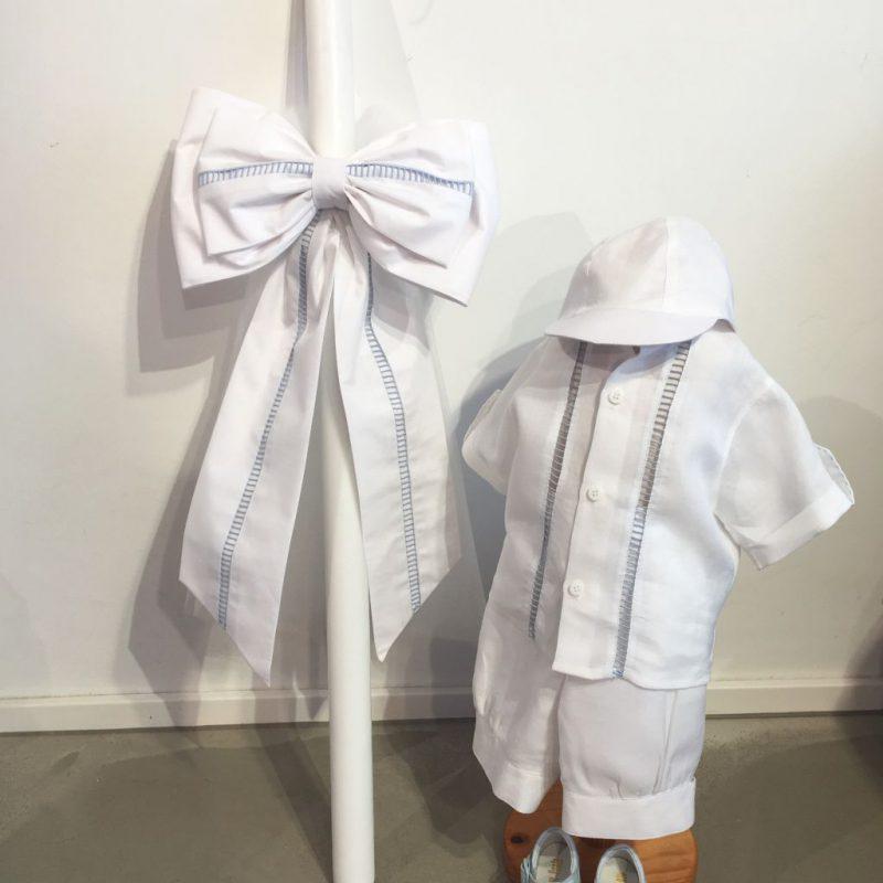 Edler Taufanzug, hübsche Taufbekleidung!