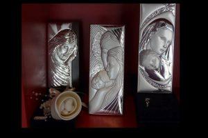 Religiöse Geschenke für die Paten oder die Trauzeuge