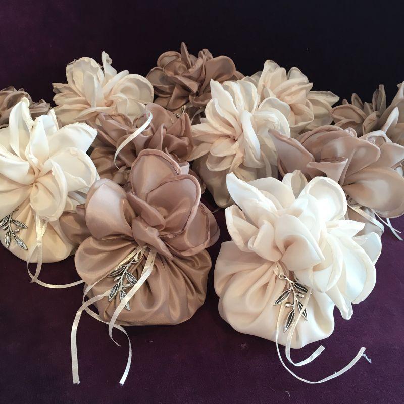 Bonboniere zur Hochzeit mit Olivenzweig