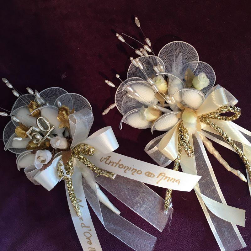 Goldene oder silberne Hochzeit Bonboniere