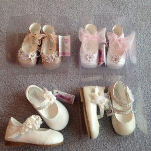 Schuhe für Mädchen zur Taufe