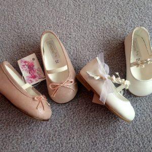 Elegante Baby Schuchen für die Tauffeier!