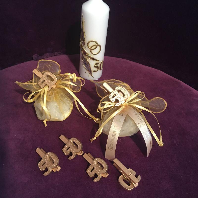 Bonboniere, giveaways oder Tischdeko zur goldenen Hochzeit!