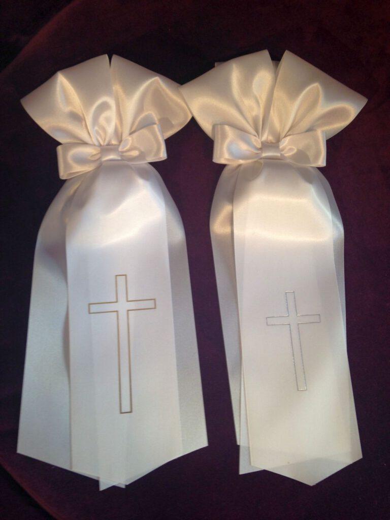 Zubehör zur Kommunion, Kerzenschleife für Jünge