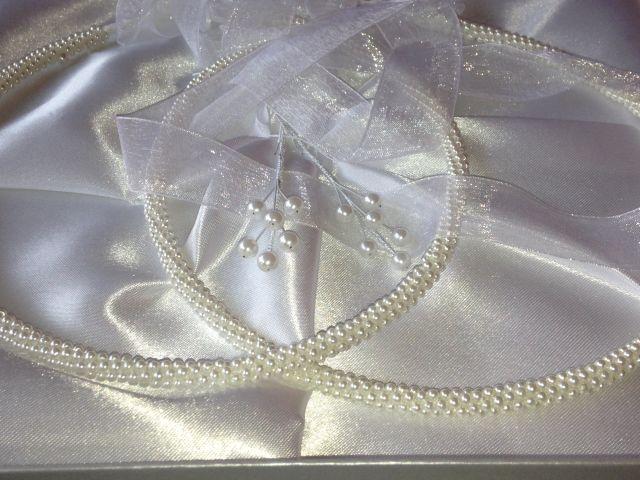 Griechisch orthodoxe Hochzeitsbedarf, Kranzset, Stefana