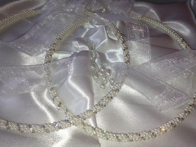 Gamos,Zubehör für die griechisch orhtodoxe Hochzeit; Stephana-Kranzset