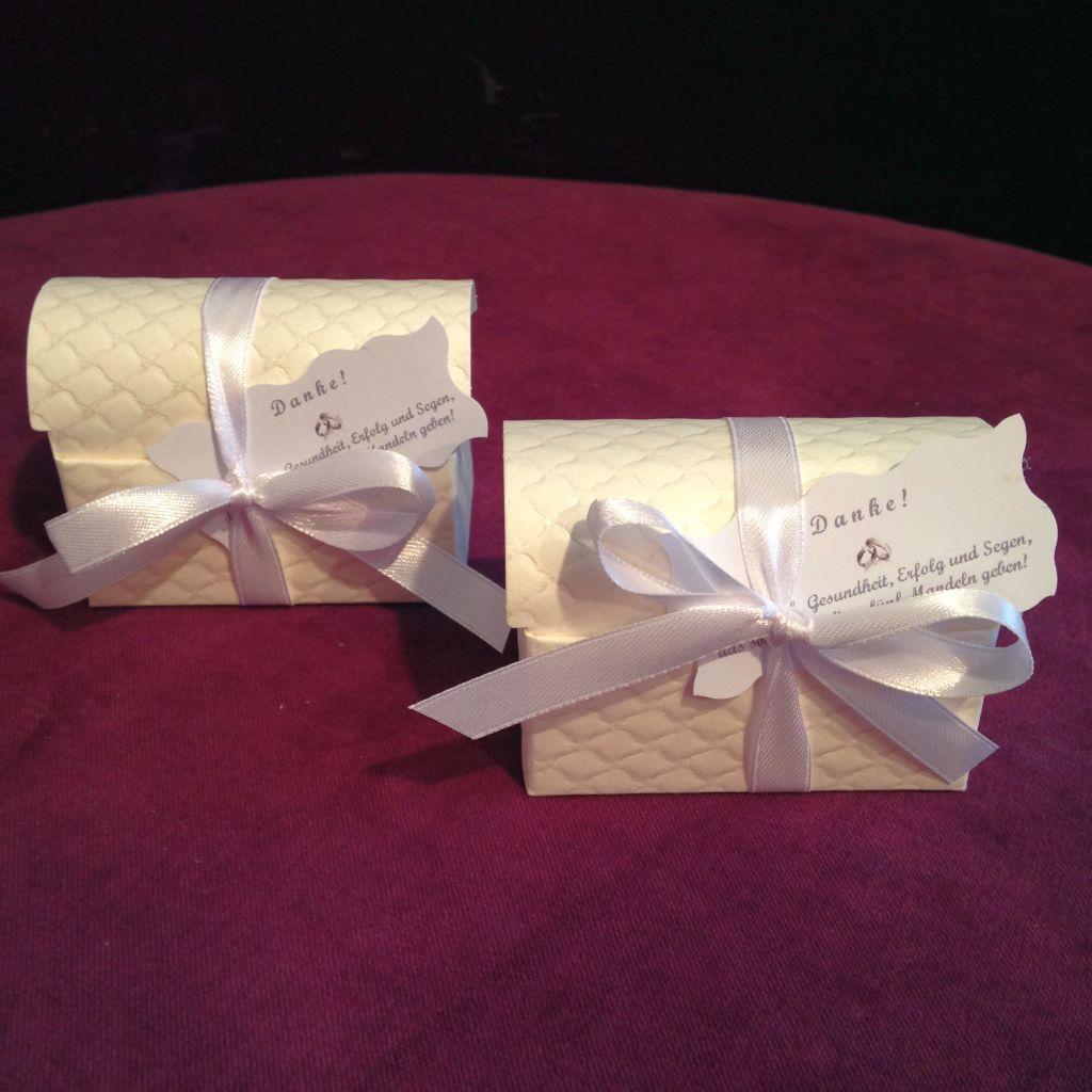 Hochzeitstorte als Gastgeschenk