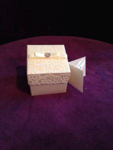 Goldene oder silberne Hochzeit Bomboniere, originelles Gastgeschenke zur Jubiläum