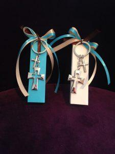 Gastgeschenke zur Kommunion mit Schlüsselanhänger