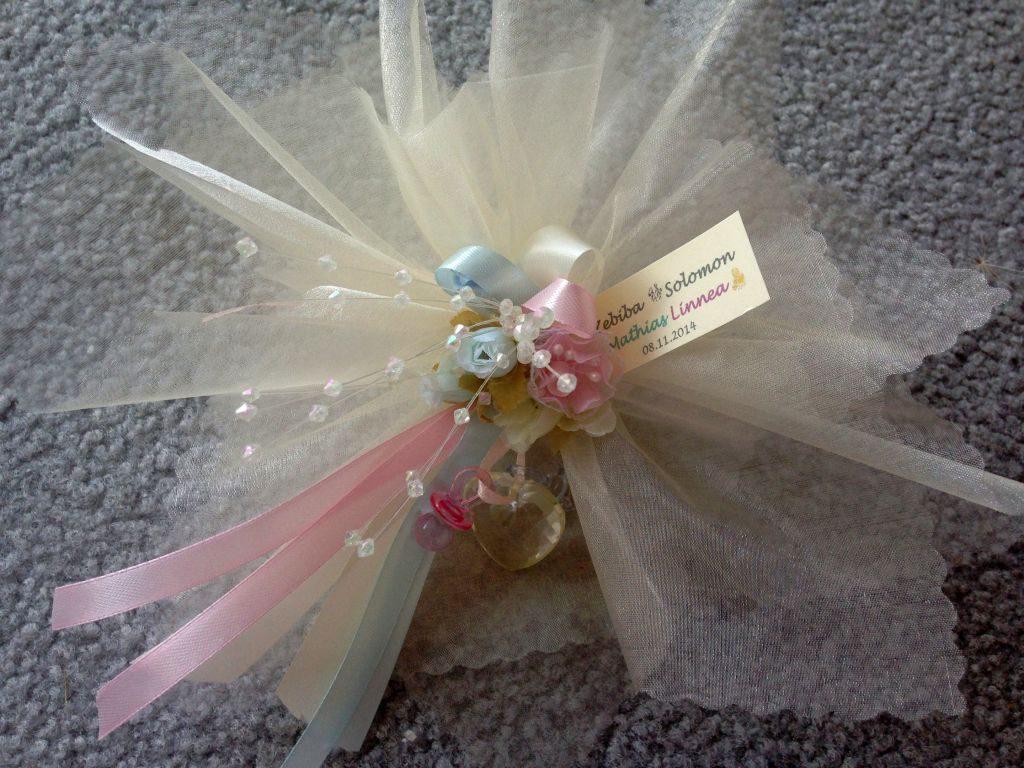 Hochzeit und Taufe Bonboniere