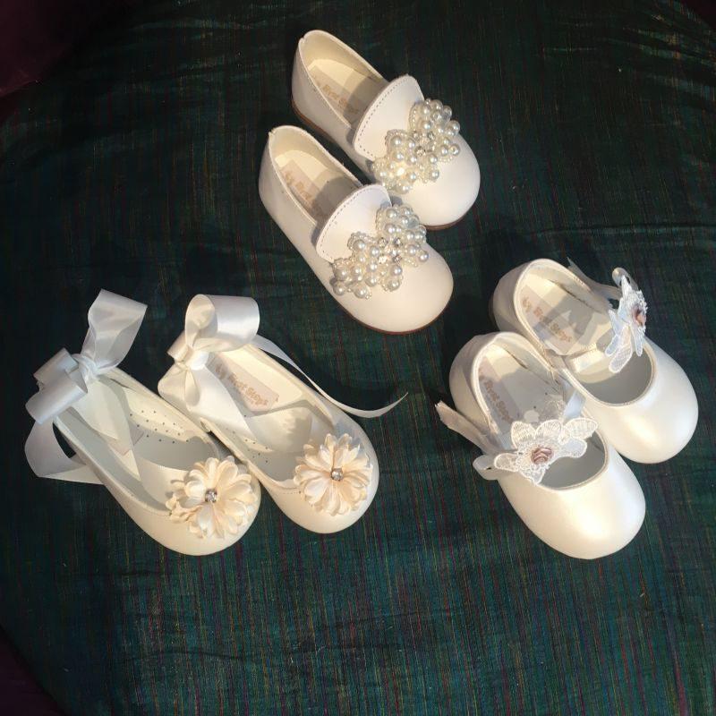 Elegante Taufschuhe, Schuhe für die Taufe