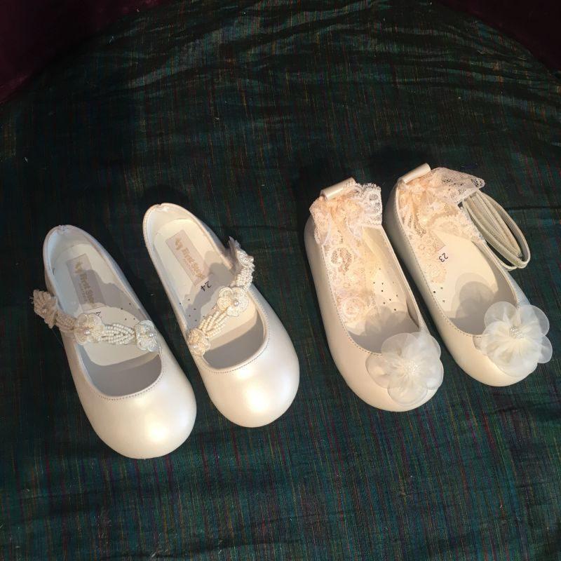 Elegante Schuhe zur Taufe