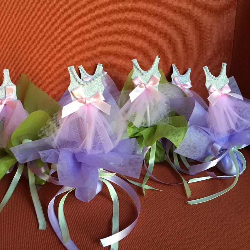 Bonboniere mit Ballet Tänzerin Outfit