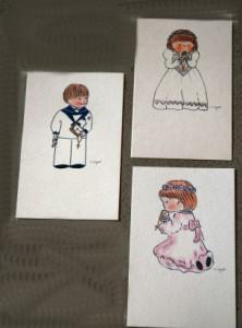 Karten Mädchen oder Junge