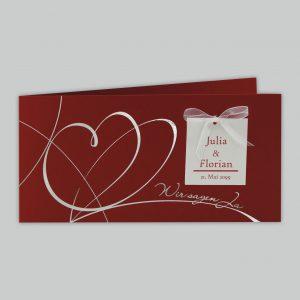 Einladungen zur Hochzeit, hübsche Hochzeitkarten