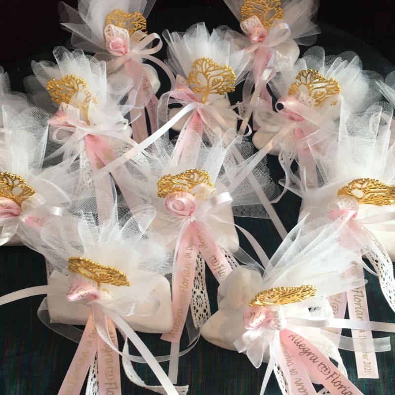 Personalisierte Bonboniere mit Lebensbaum zur Hochzeit
