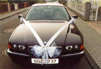 Autoschleifen, Ringe für das Autofenster