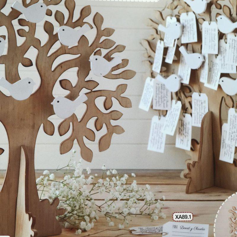 """""""Best wishes Tree"""" Lebensbaum mit Wunschzettel"""