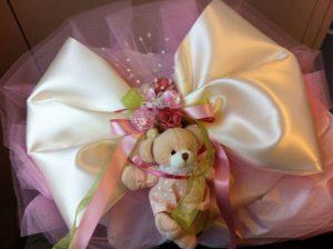 Zur Babyshower, Geburt, Taufe hübsche dekoration