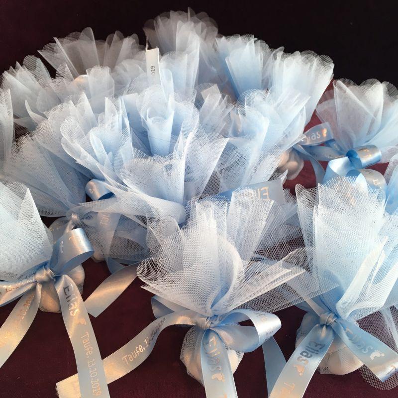 Personalisierte Bonboniere zur Taufe, Firmung, Kommunion, Hochzeit, Jubiläen