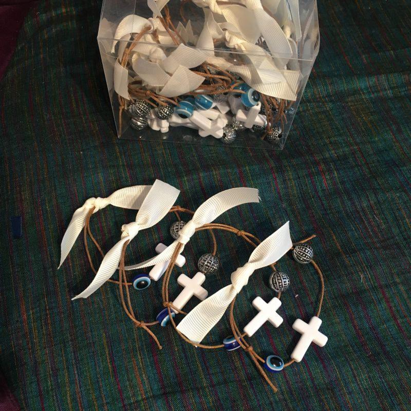 Zubehör für die griechische Taufe-Martirika