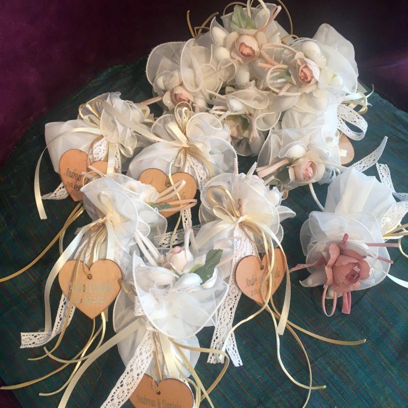 Hochzeitsbonboniere für Ihre Feier in romantik Stil!