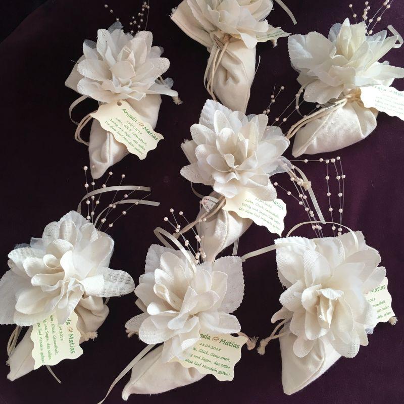Bonboniere oder Tischdekoration zur Hochzeit