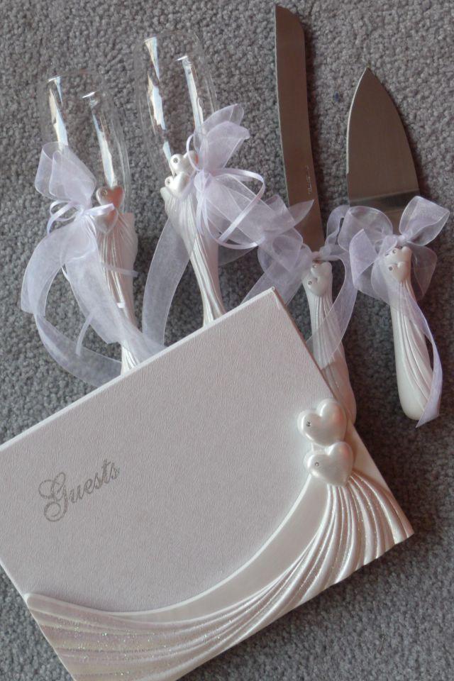 Hochzeitszubehör, Dekoration für die Hochzeit, Ausstattung zur Hochzeit