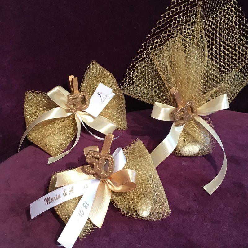 Goldene Hochzeit Gastgeschenke