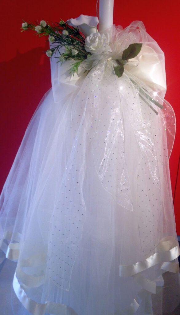 Ausstattung für die griechisch-orthodoxe Hochzeit, Hochzeitskerze/Lambades