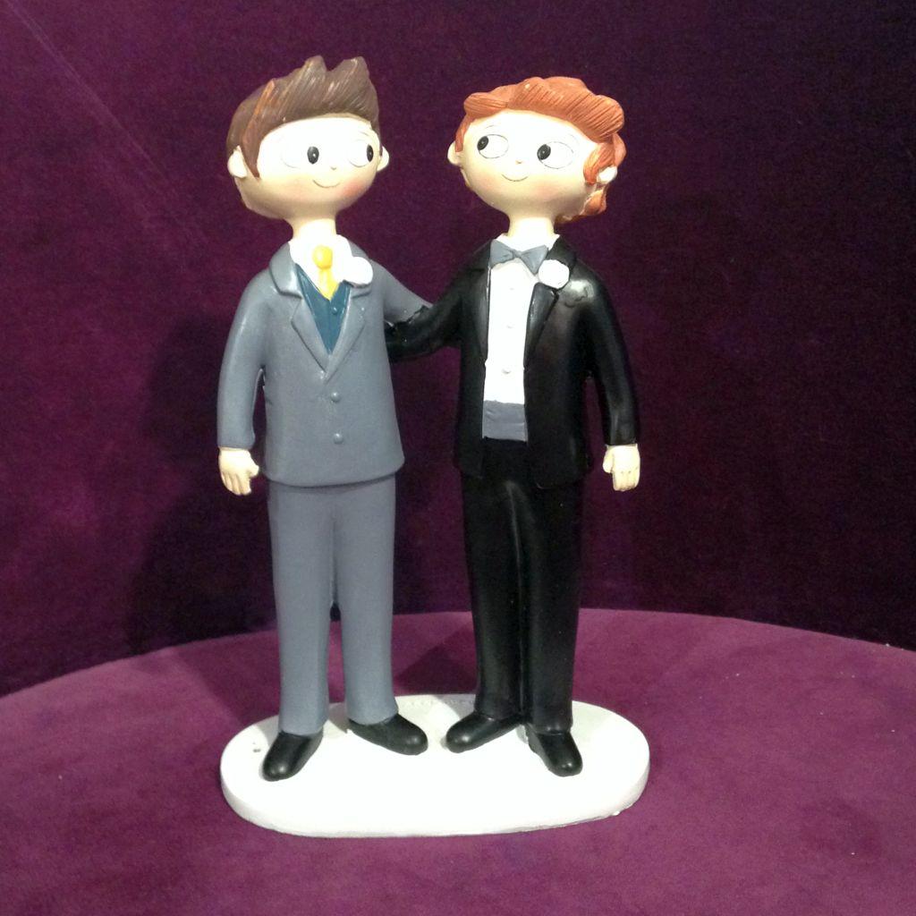 Hochzeit Tortendekoration Homopaaren, Homoehe Tortenfiguren