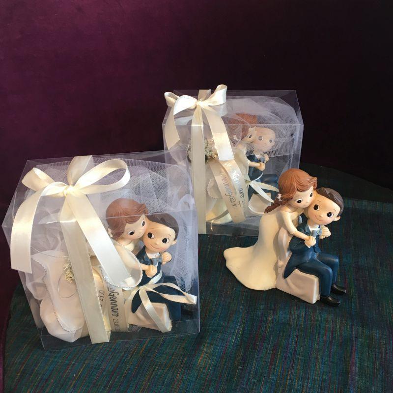 Personalisierte Bonboniere oder Gastegeschenke zur Hochzeit