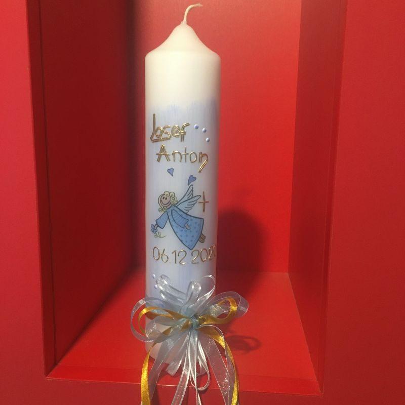 Hübsche Taufkerzen, Kerzen zur Taufe