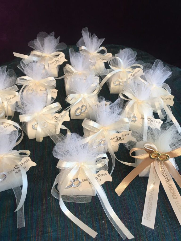 Hochzeit Bonboniere, Giveaways, Favors Gastgeschenke
