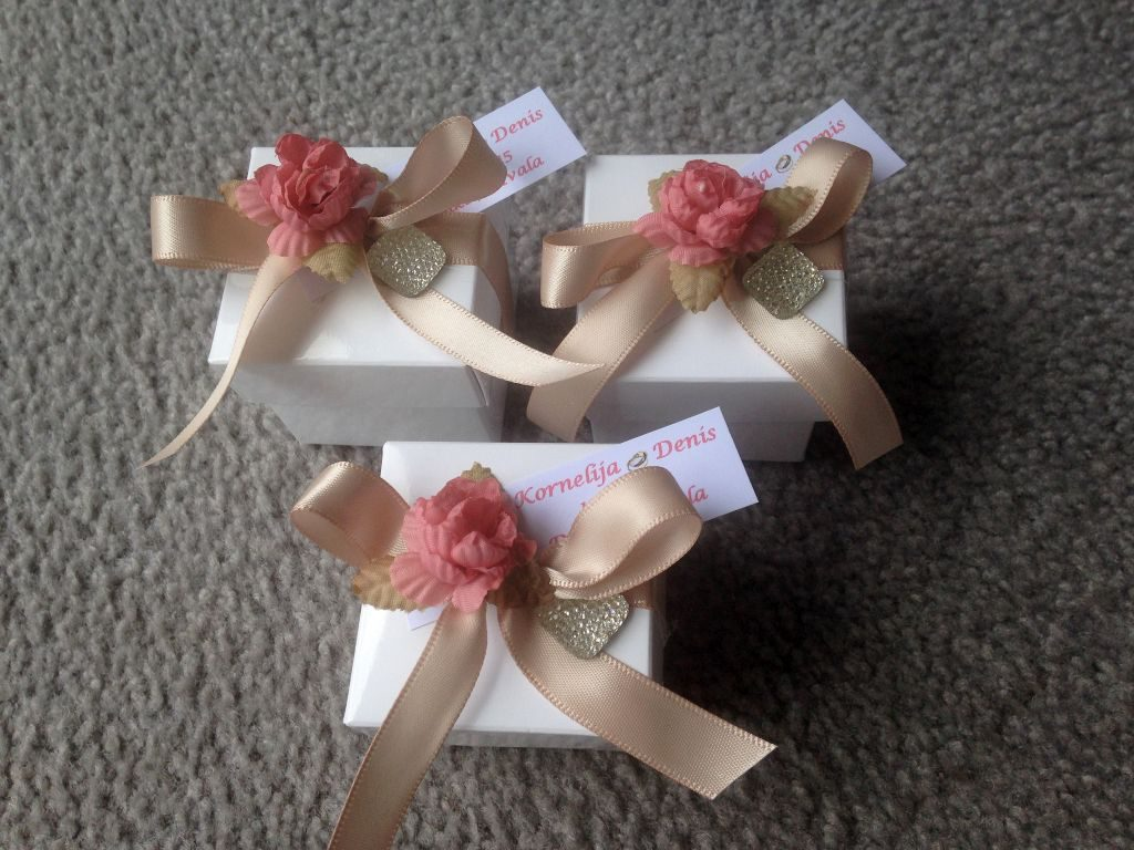 Bonboniere für die Hochzeit oder Gastgeschenk