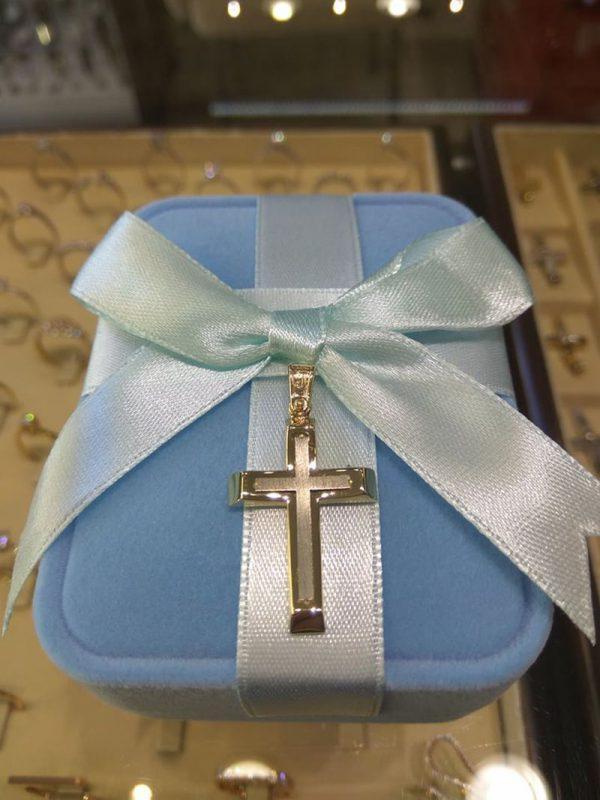 Goldene Kreuz zur Taufe