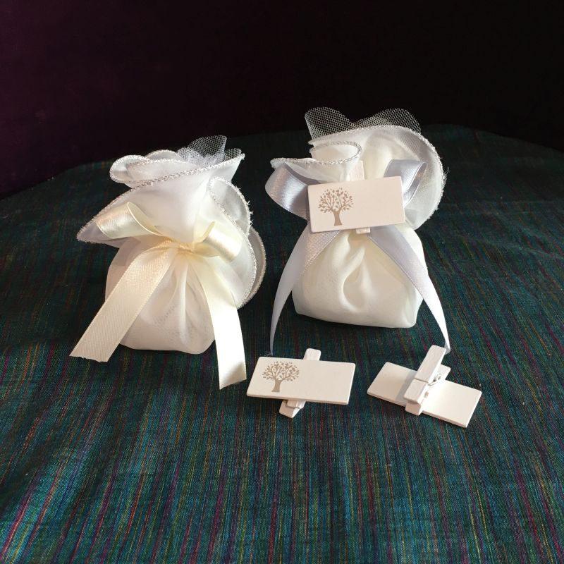 Bonboniere/Tischkarte zur Hochzeit