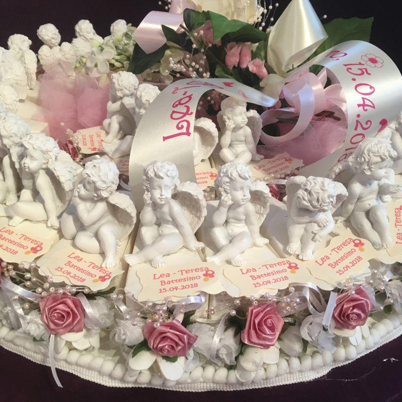 Gastgeschenke oder Bonboniere als Torte zur Taufe