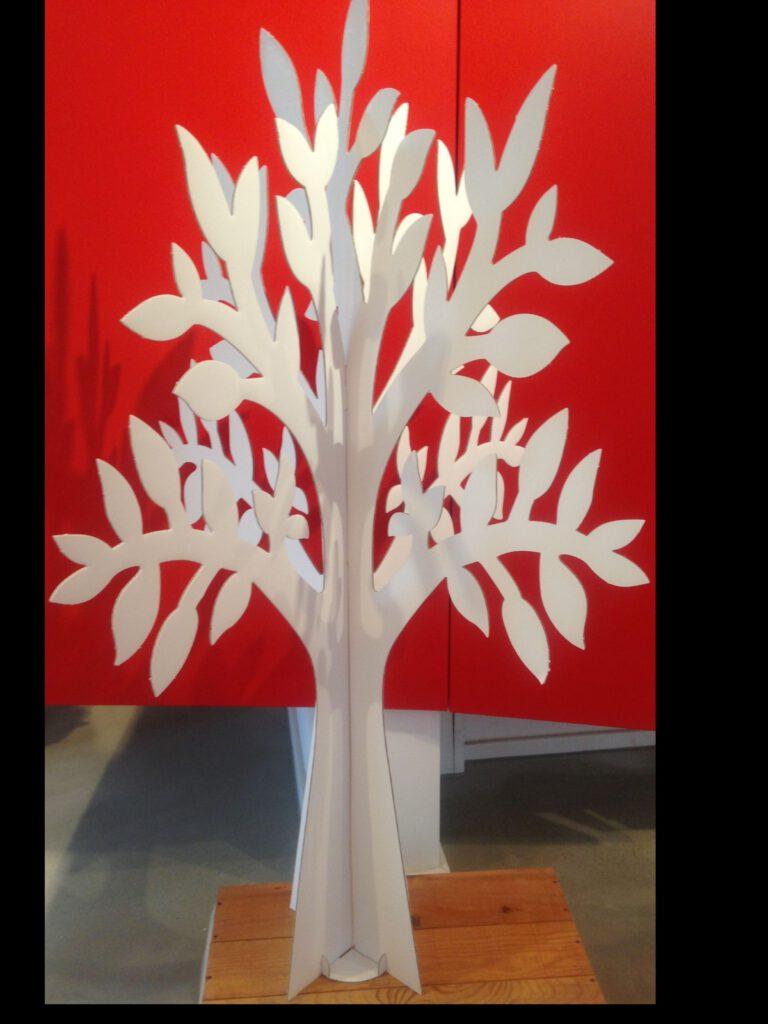 Lebensbaum zum Dekorieren der Gastgeschenke